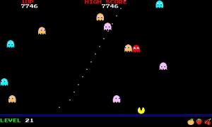 PAC-PAC ゲーム画面